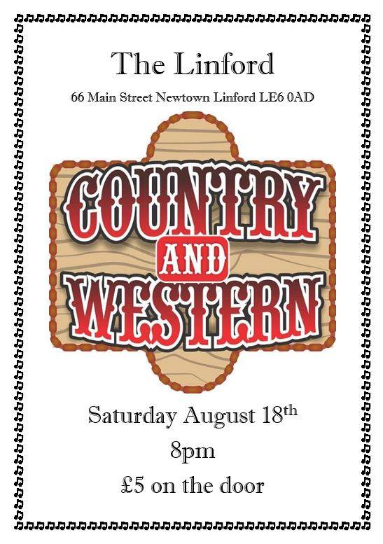 Country and Western Night at the Linford